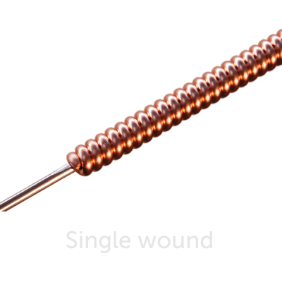 Piano Bass String Single Wound